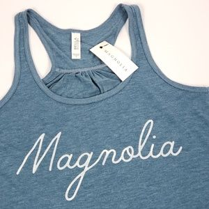 NEW!!  Magnolia Market  Magnolia Script Tank